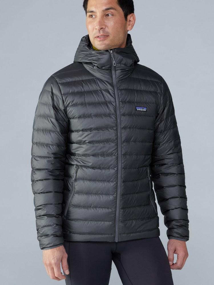 photo: Patagonia Hi-Loft Down Sweater Hoody down insulated jacket