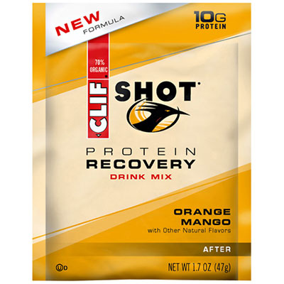 Clif Shot Mango Orange Recovery Drink