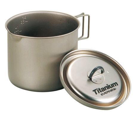 Evernew Ti Ultralight Pot .6L