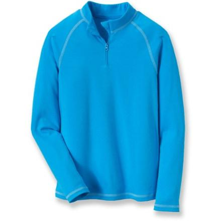 photo: REI Midweight Quarter-Zip Top base layer top