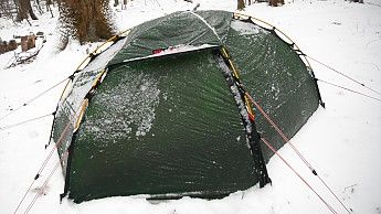 Some say a 1p is small for extended stays/zero days but I have no issues with it. Just enough space for me my Downmat 7 -20 bag and a lil room left ... & Whatu0027s your favorite winter tent? (1 or 2 P) - Trailspace.com