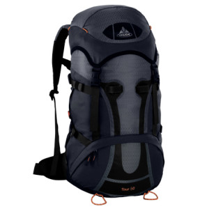 photo: VauDe Tour 50 weekend pack (3,000 - 4,499 cu in)