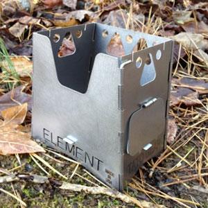 photo: TATO Gear Element Titanium Wood Stove wood stove