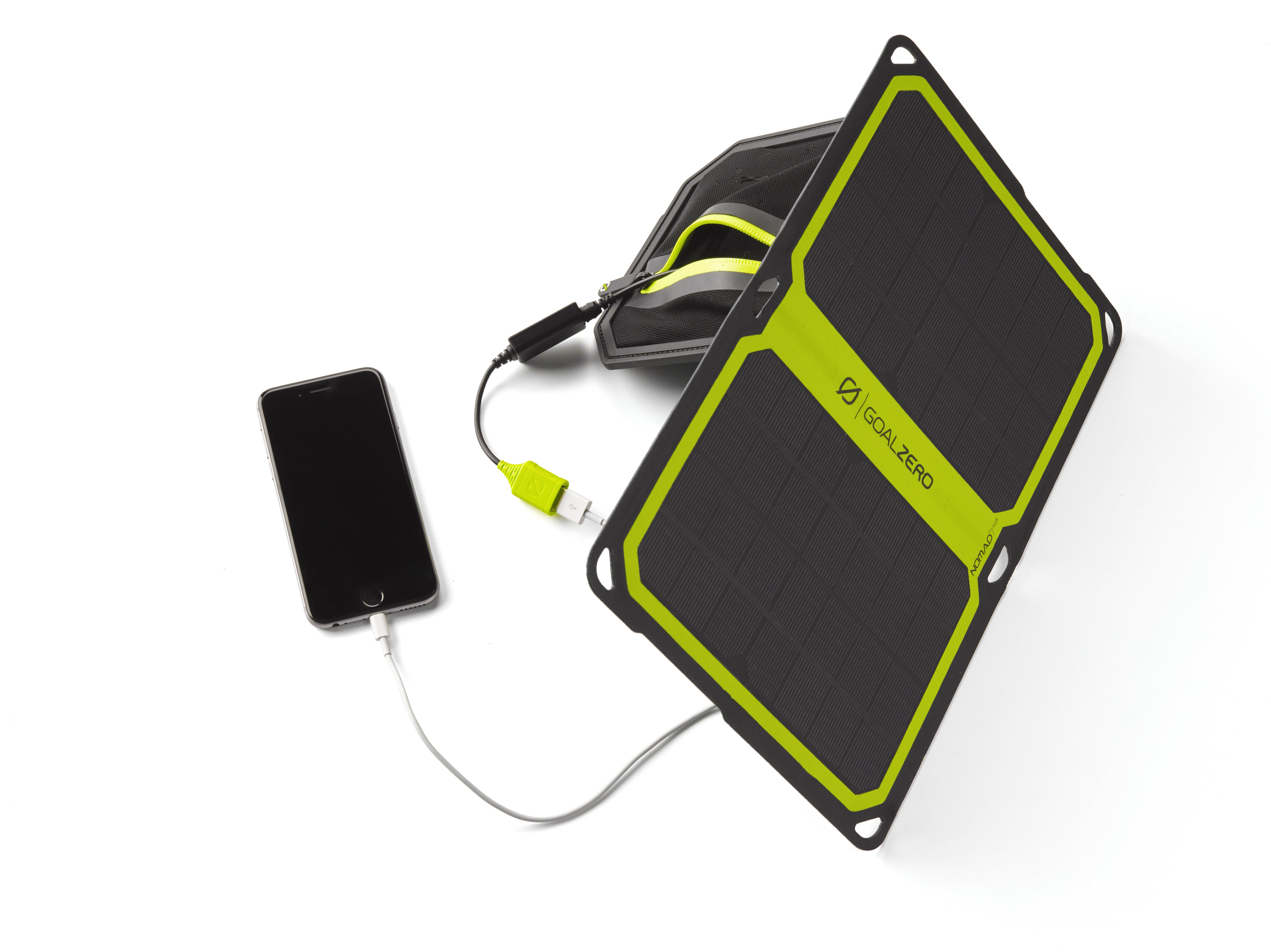 photo: Goal Zero Nomad 7 Plus solar panel