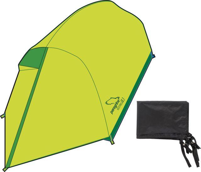photo: Peregrine Kestrel Ultralight 3P Combo three-season tent