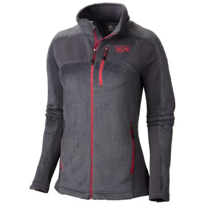 photo: Mountain Hardwear Hoodless Monkey Woman Grid Jacket fleece jacket