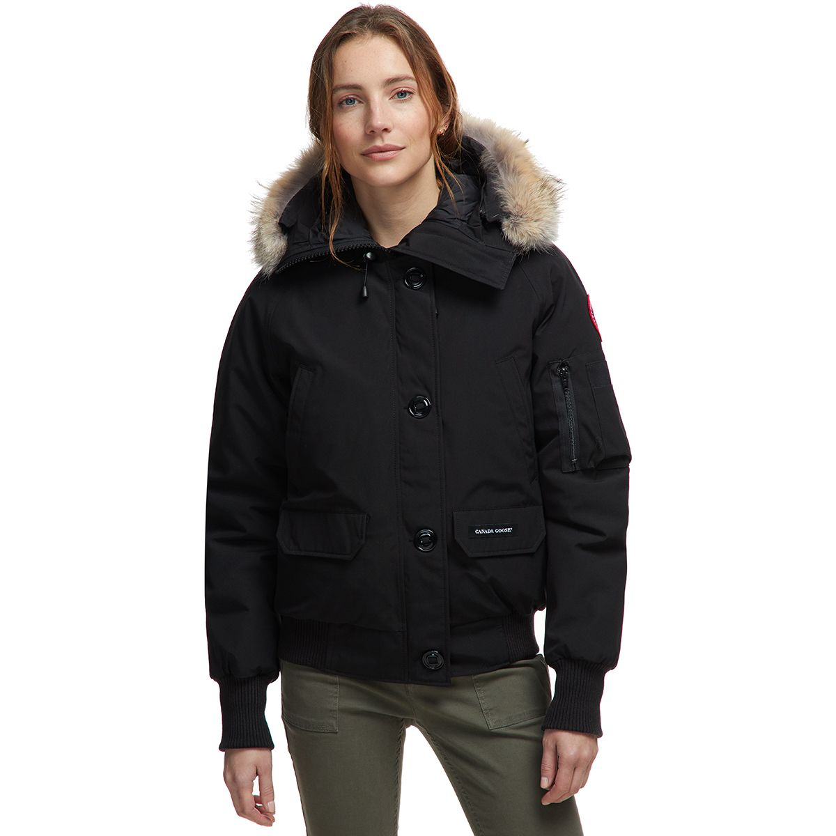 photo: Canada Goose Women's Chilliwack Bomber down insulated jacket