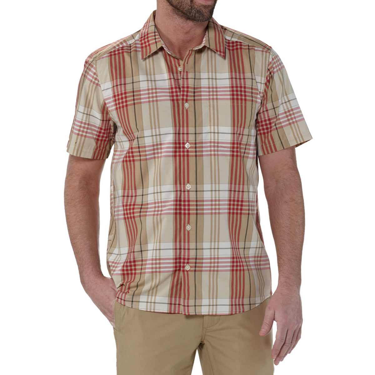 photo: Patagonia Men's Gone Again Shirt hiking shirt