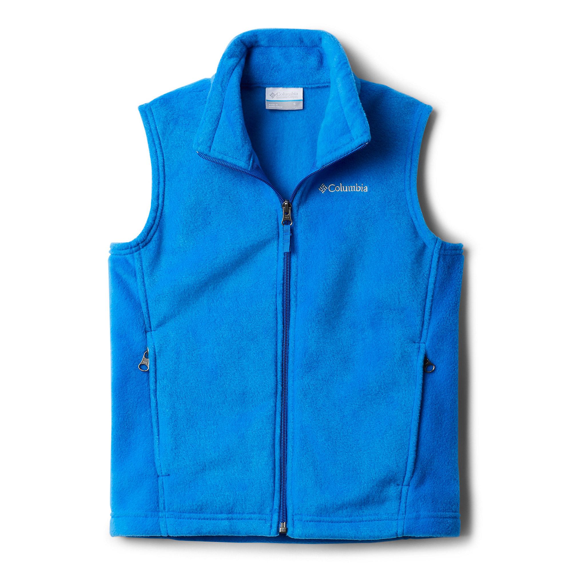 photo: Columbia Boys' Steens Mountain Fleece Vest fleece vest
