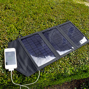 photo:   InstaPark Mercury 10 Solar Panel Charger power storage