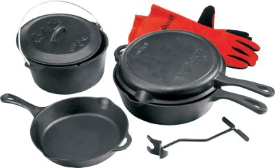 photo: Cabela's Five-Piece Starter Set pot/pan