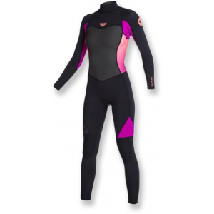 Roxy 3/2mm Syncro Flatlock Back Zip Fullsuit