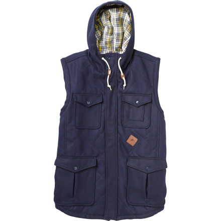photo: Burton Match Vest wool vest