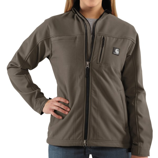 photo: Carhartt Women's Soft Shell Jacket synthetic insulated jacket