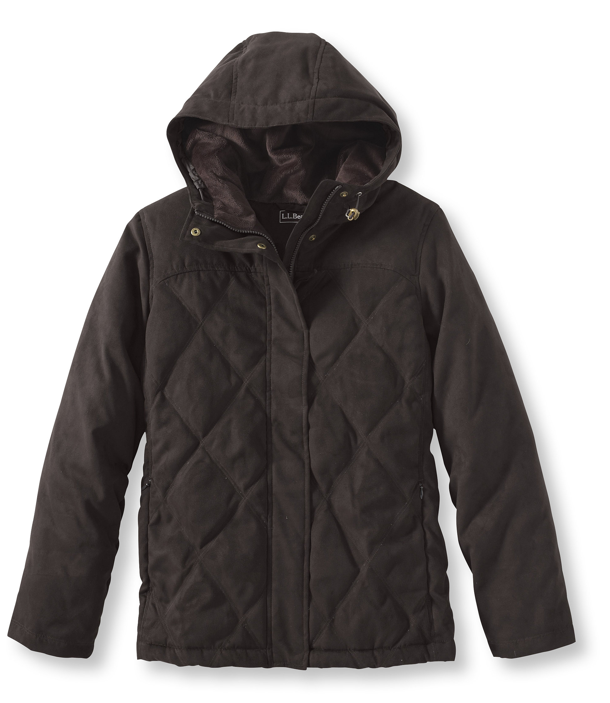 photo: L.L.Bean Microsuede Down Jacket down insulated jacket