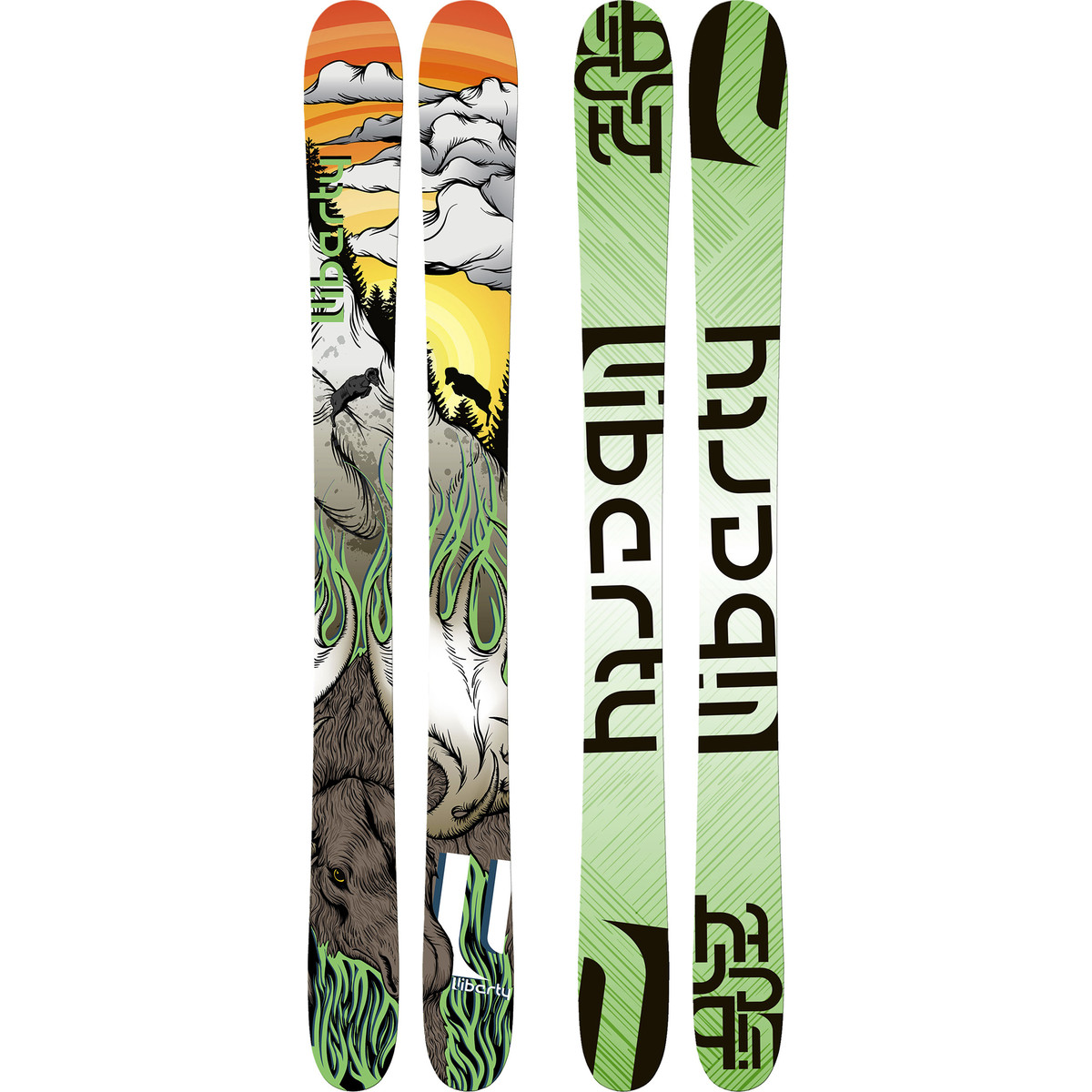 Liberty Skis Genome