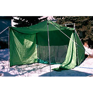 photo: Churchill River Canoe Outfitters Nylon Campfire Tent 5x7 three-season tent