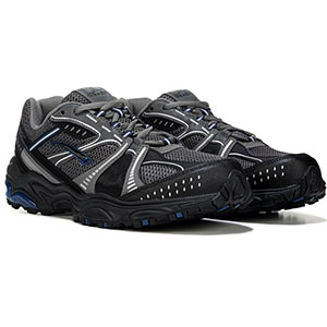 photo:   L.A. Gear Trek trail running shoe