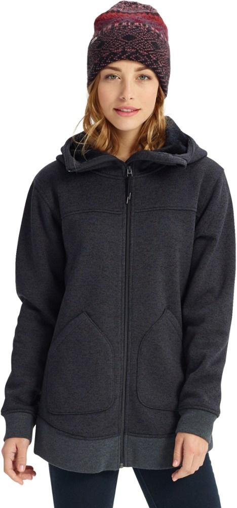 photo: Burton Minxy Full-Zip Hoodie fleece jacket