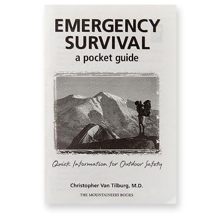 The Mountaineers Books Emergency Survival - A Pocket Guide