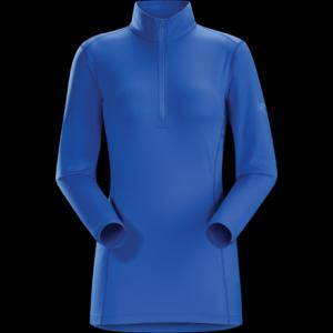 photo: Arc'teryx Women's Phase AR Zip-Neck LS base layer top