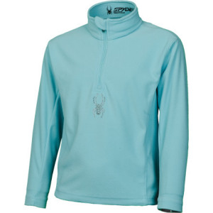 photo: Spyder Bitsy Chloe Dry W.E.B. T-Neck fleece top