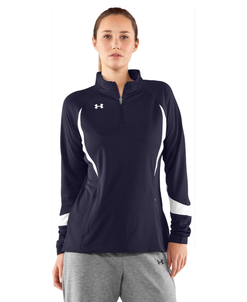 photo: Under Armour Hype 1/4 Zip base layer top