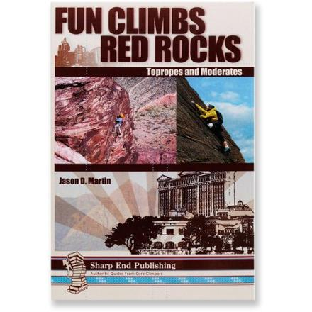 photo: Sharp End Publishing Fun Climbs: Red Rocks Topropes and Moderates us mountain states guidebook