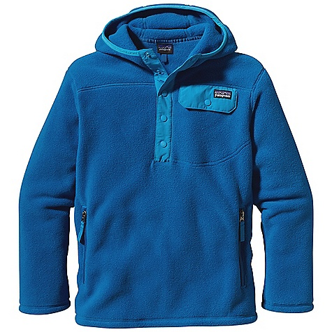 photo: Patagonia Lightweight Snap-T Hoody fleece top