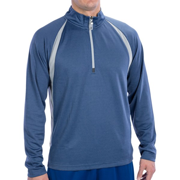 Alo CoolFit Pullover - Zip Neck