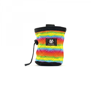 evolv Cotton Knit Chalk Bag