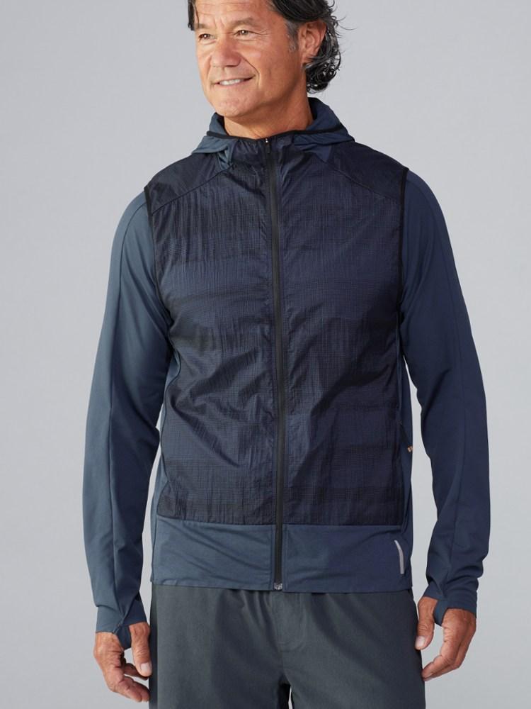 photo: REI On The Trail Run Vest wind shell vest