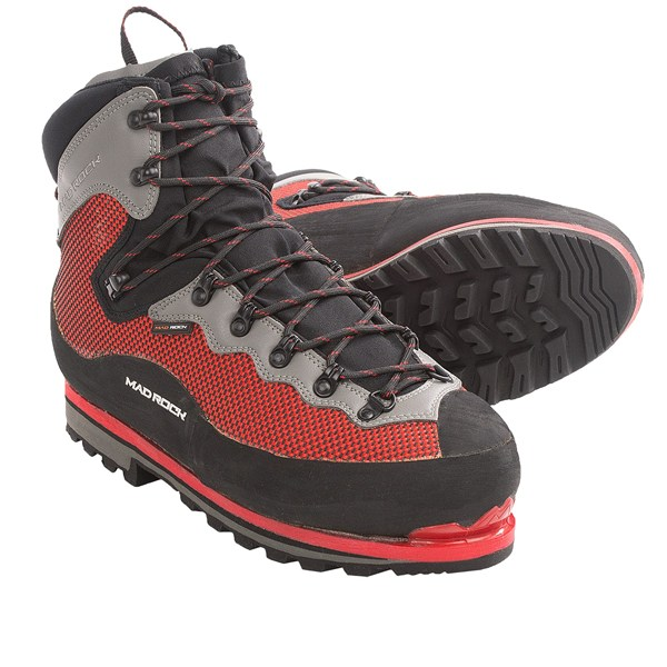 photo: Mad Rock Alpinist mountaineering boot