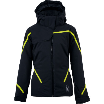 photo: Spyder Exhilaration Jacket snowsport jacket