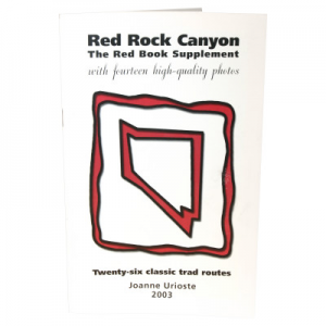 AlpenBooks Red Rock Canyon: Red Book Supplement