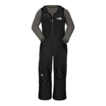 photo: The North Face Boys' Insulated Snowdrift Bib snowsport pant