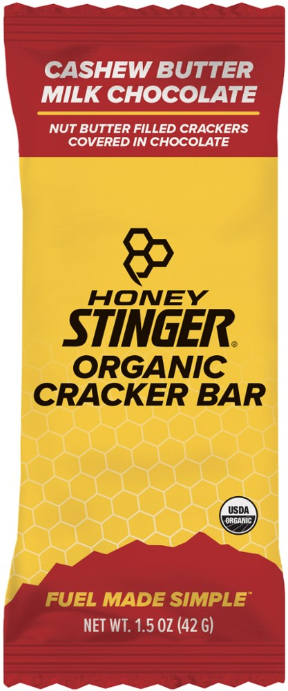 photo: Honey Stinger Organic Cracker N' Nut Butter Snack Bar nutrition bar
