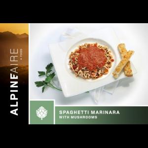 photo: AlpineAire Foods Spaghetti Marinara with Mushrooms vegetarian entrée