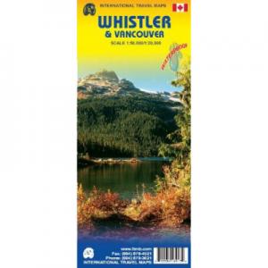 AlpenBooks Whistler & Vancouver Map