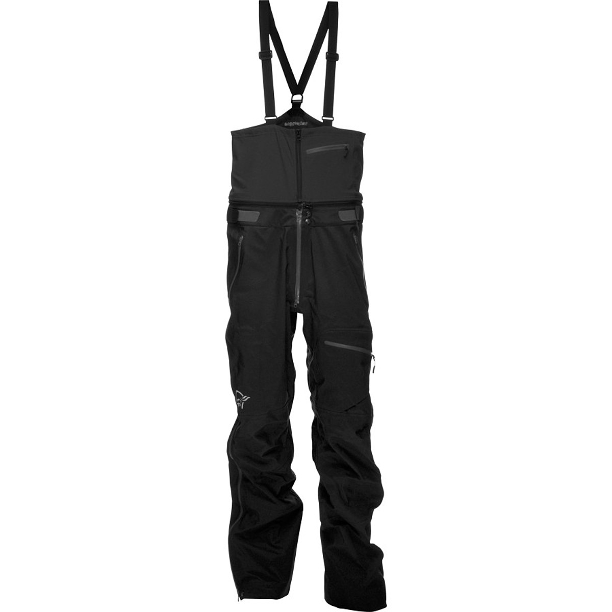 photo: Norrona Men's Trollveggan Dri3 Bib snowsport pant