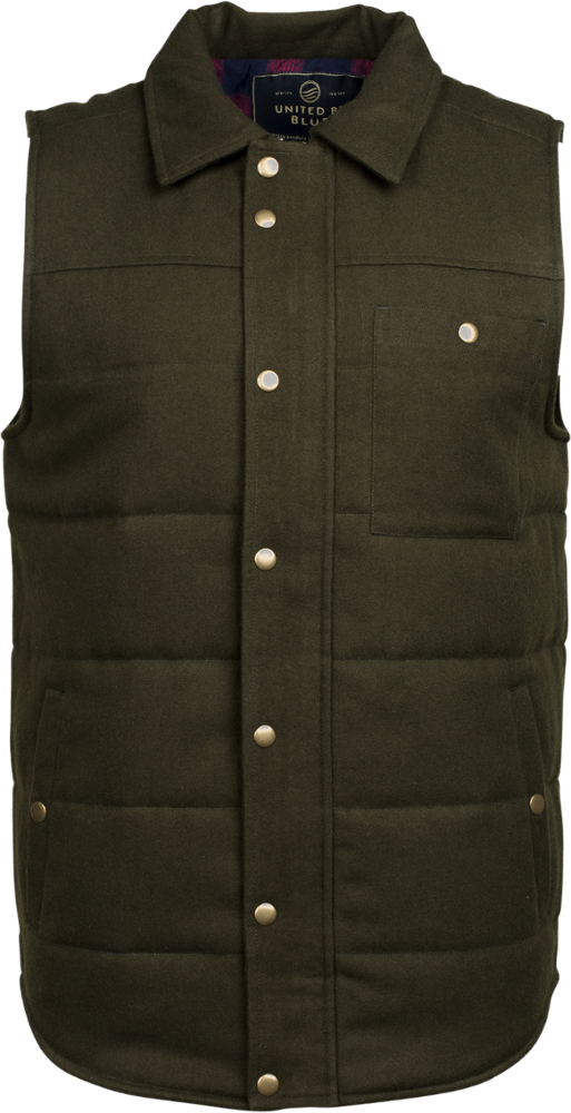 photo: United by Blue Drummond Vest synthetic insulated vest