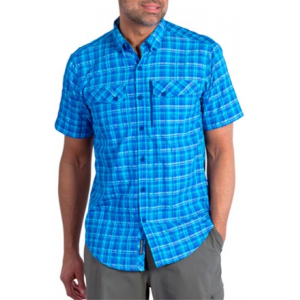 ExOfficio Sol Cool Cryogen Plaid Short Sleeve Shirt