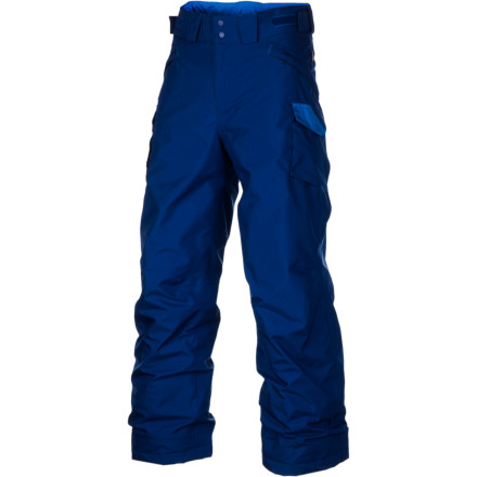 photo: Patagonia Boys' Go-Snow Pants synthetic insulated pant