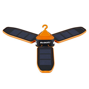 Suaoki Solar Panel Foldable LED Lantern
