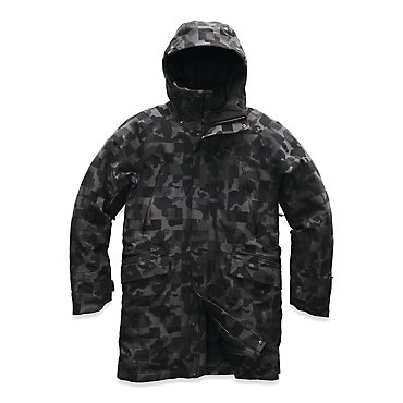 photo: The North Face Cryos Wool Blend Down Parka GTX down insulated jacket