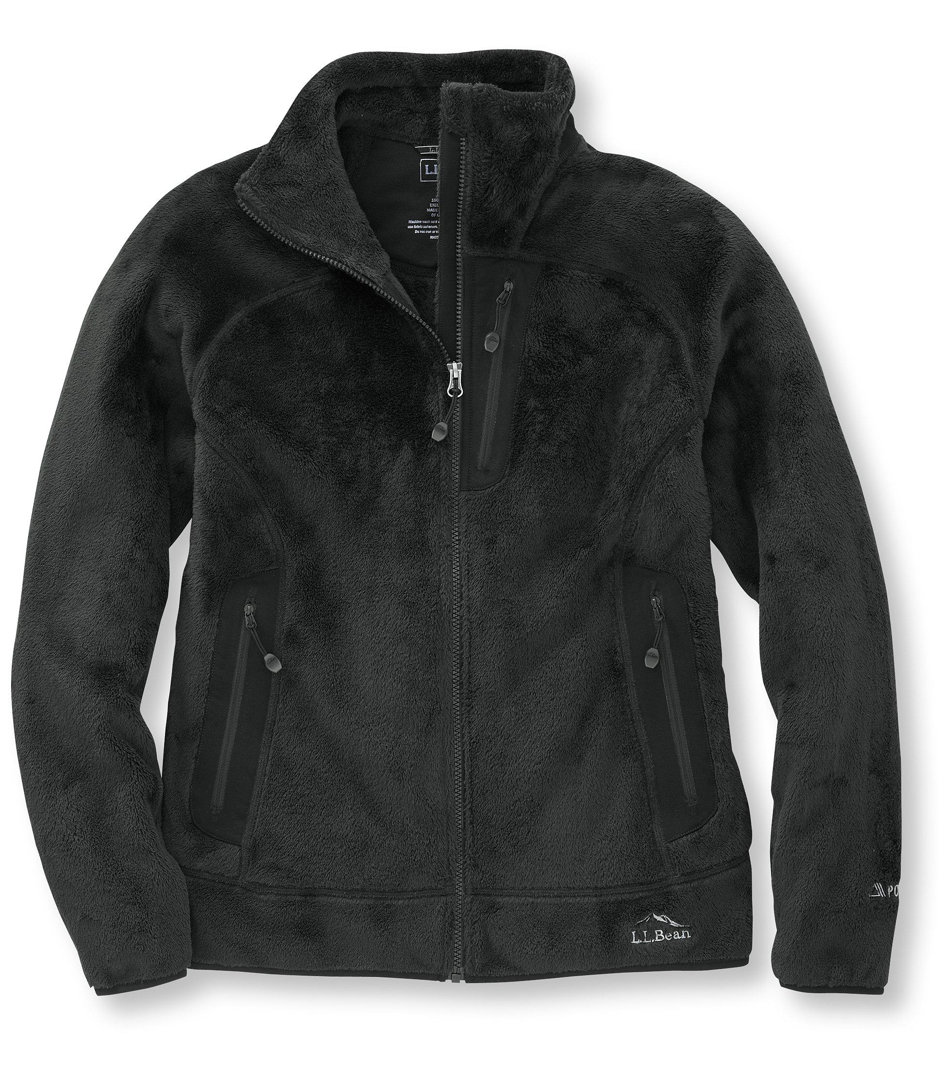 L.L.Bean Ascent Polartec Packaway Fleece Jacket