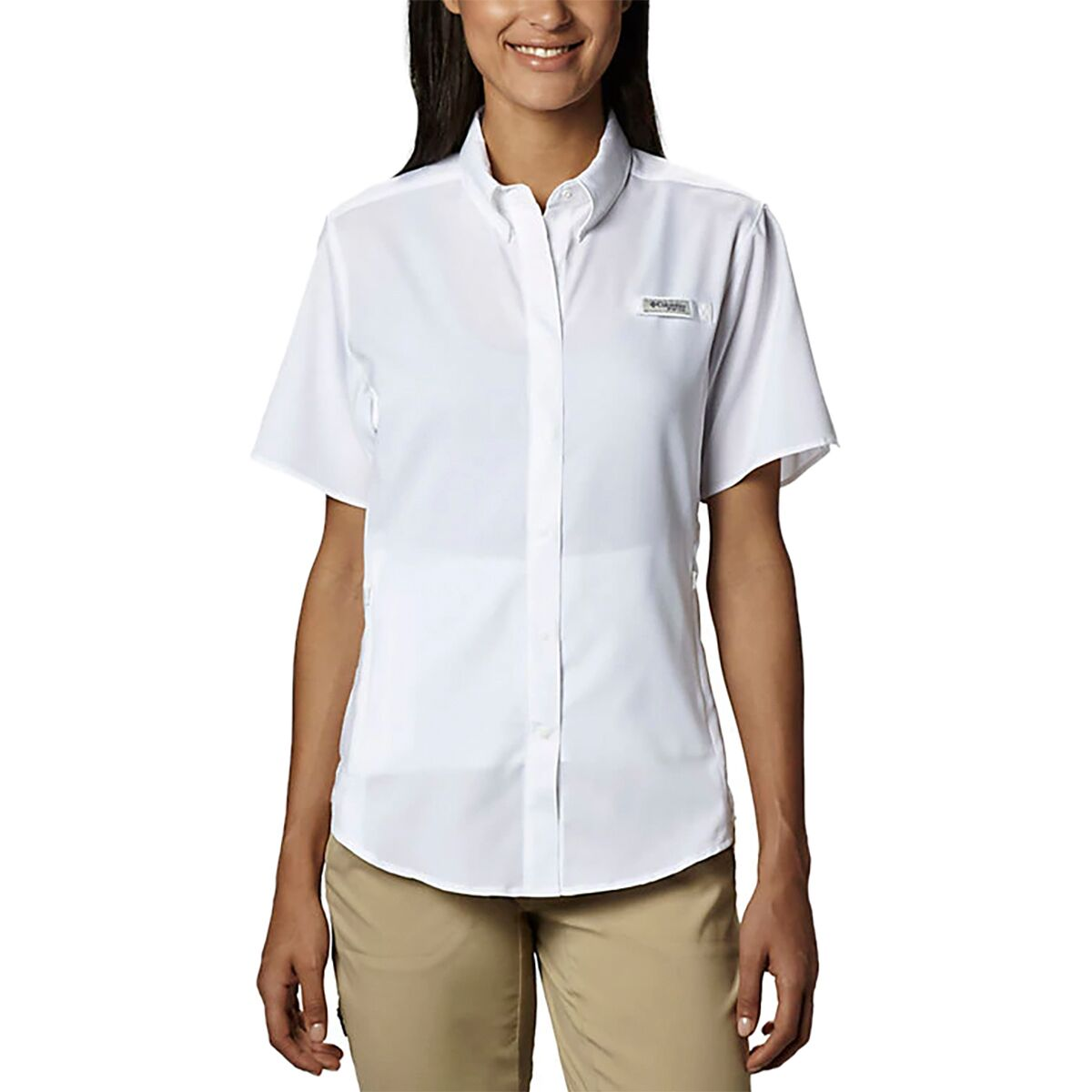 photo: Columbia Women's Tamiami II Short Sleeve Shirt hiking shirt