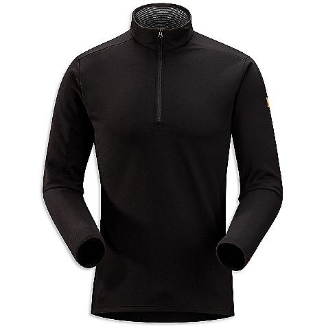 photo: Arc'teryx Men's Phase SV Zip-Neck LS long sleeve performance top