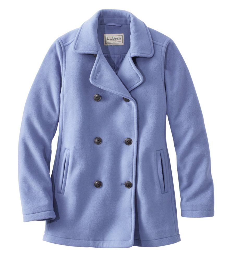 photo: L.L.Bean Fleece Peacoat fleece jacket