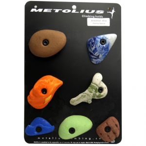 Metolius Super Seven Climbing Hold Set